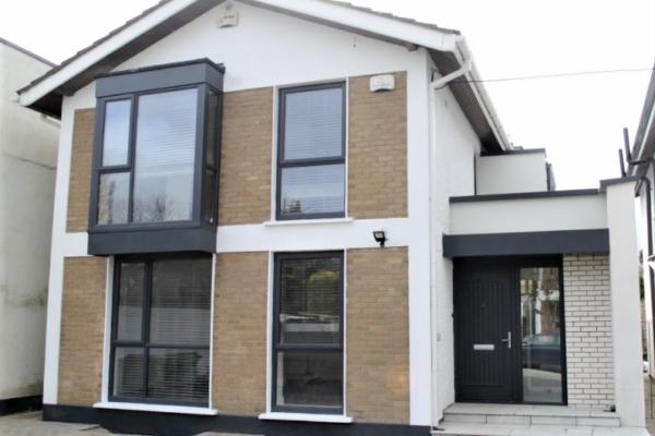 Interior refurbishment, front and rear extension in Stillorgan, South Dublin