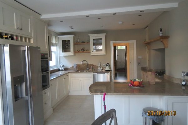 New kitchen and interior renovation, Greystones, Co. Wicklow