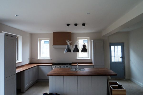 Full Refurbishment, New Kitchen and Living Room. Greystones, Co. Wicklow