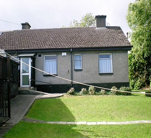 Before Photo of Rear and Garden. Greystones, Co. Wicklow