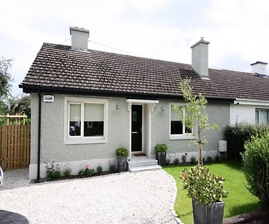 After photo of front and driveway. Greystones, Co. Wicklow