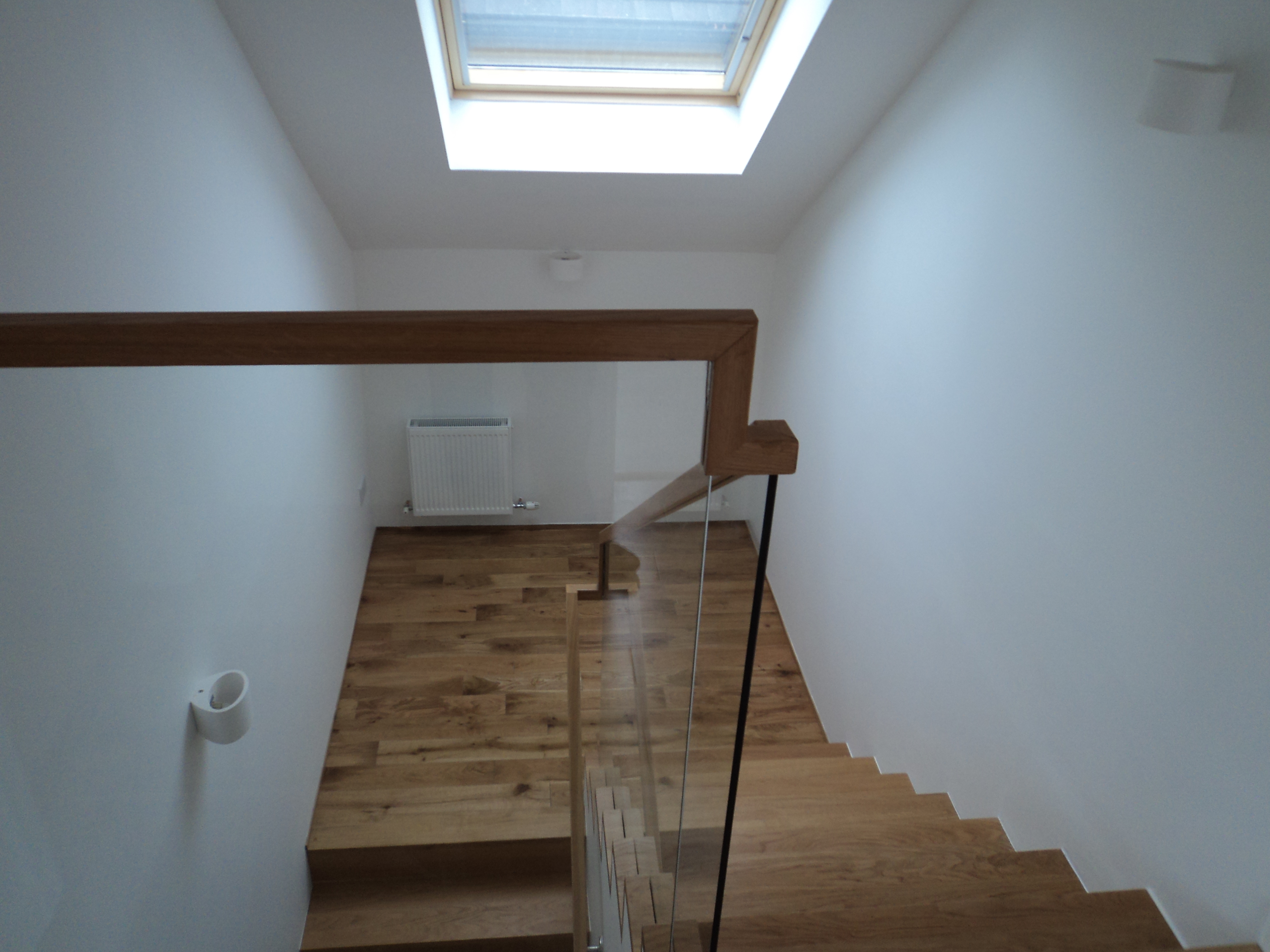 Attic loft conversion with new staircase in Redcross, Co. Wicklow
