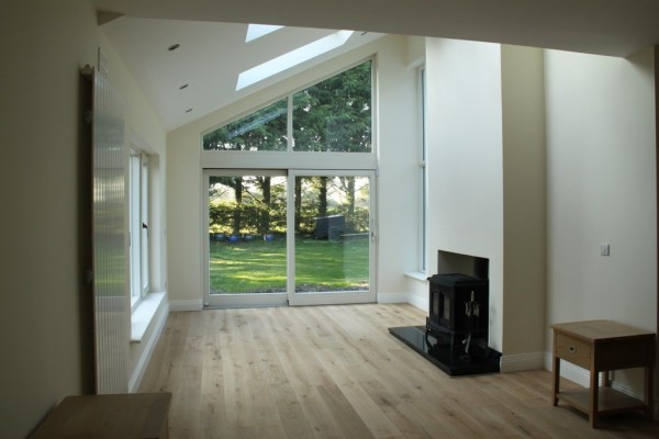New extension of rear in Prosperous, Co. Meath