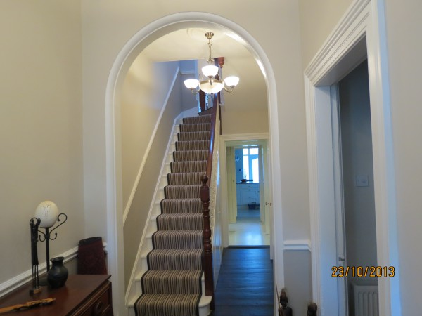 New hallway and interior renovation in Greystones, Co. Wicklow