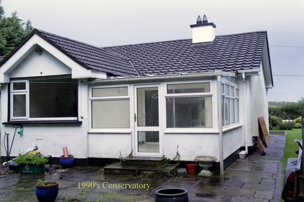 (BEFORE) New extension of rear in Prosperous, Co. Meath