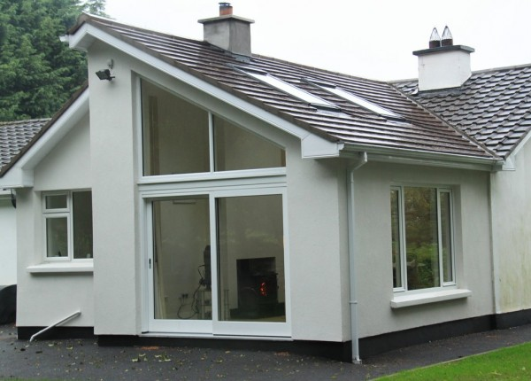 (AFTER) New extension of rear in Prosperous, Co. Meath