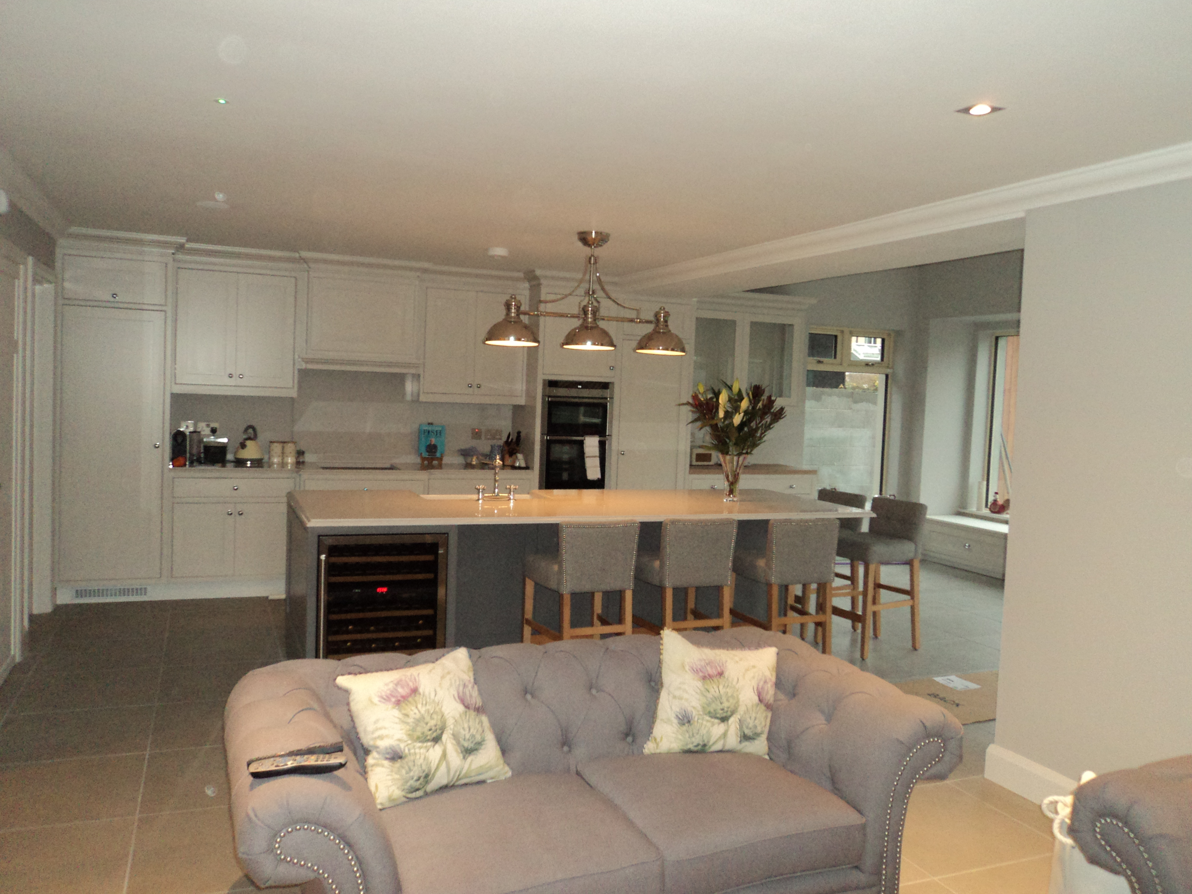 Kitchen and Living Room, Extension of rear and front in Rathfarnam, South Dublin