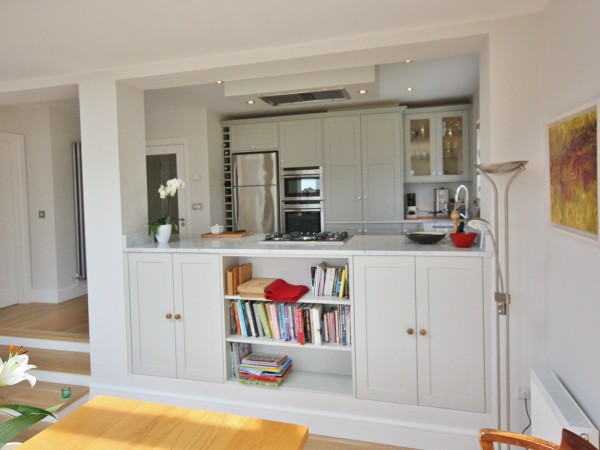 Rear Extension with interior rennovation of kitchen and living room. Greystones, Wicklow