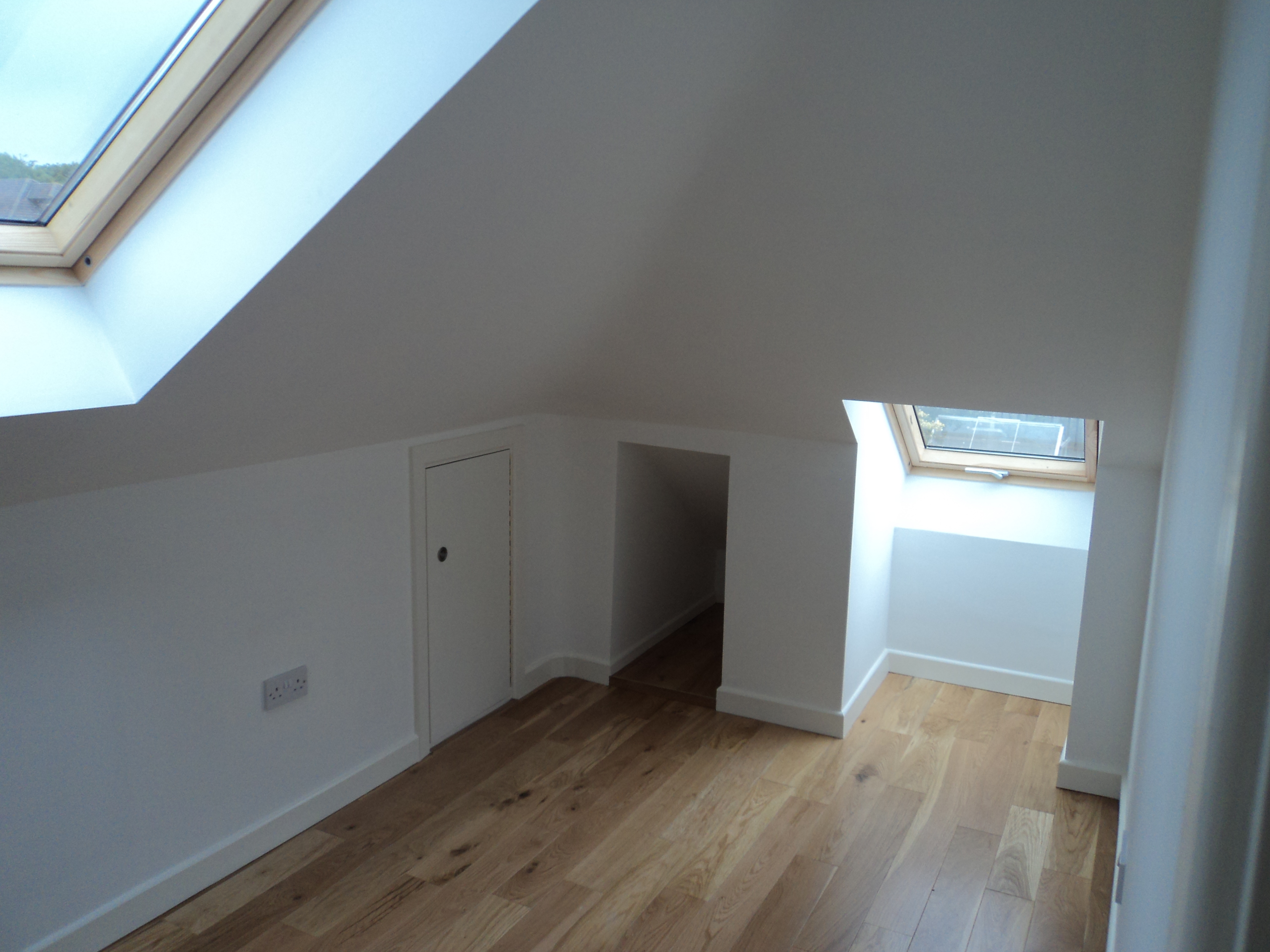 ttic loft conversion with new staircase in Redcross, Co. Wicklow