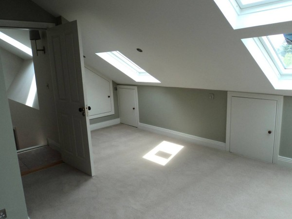 Rear Extension with loft conversion in Terenure, South Dublin