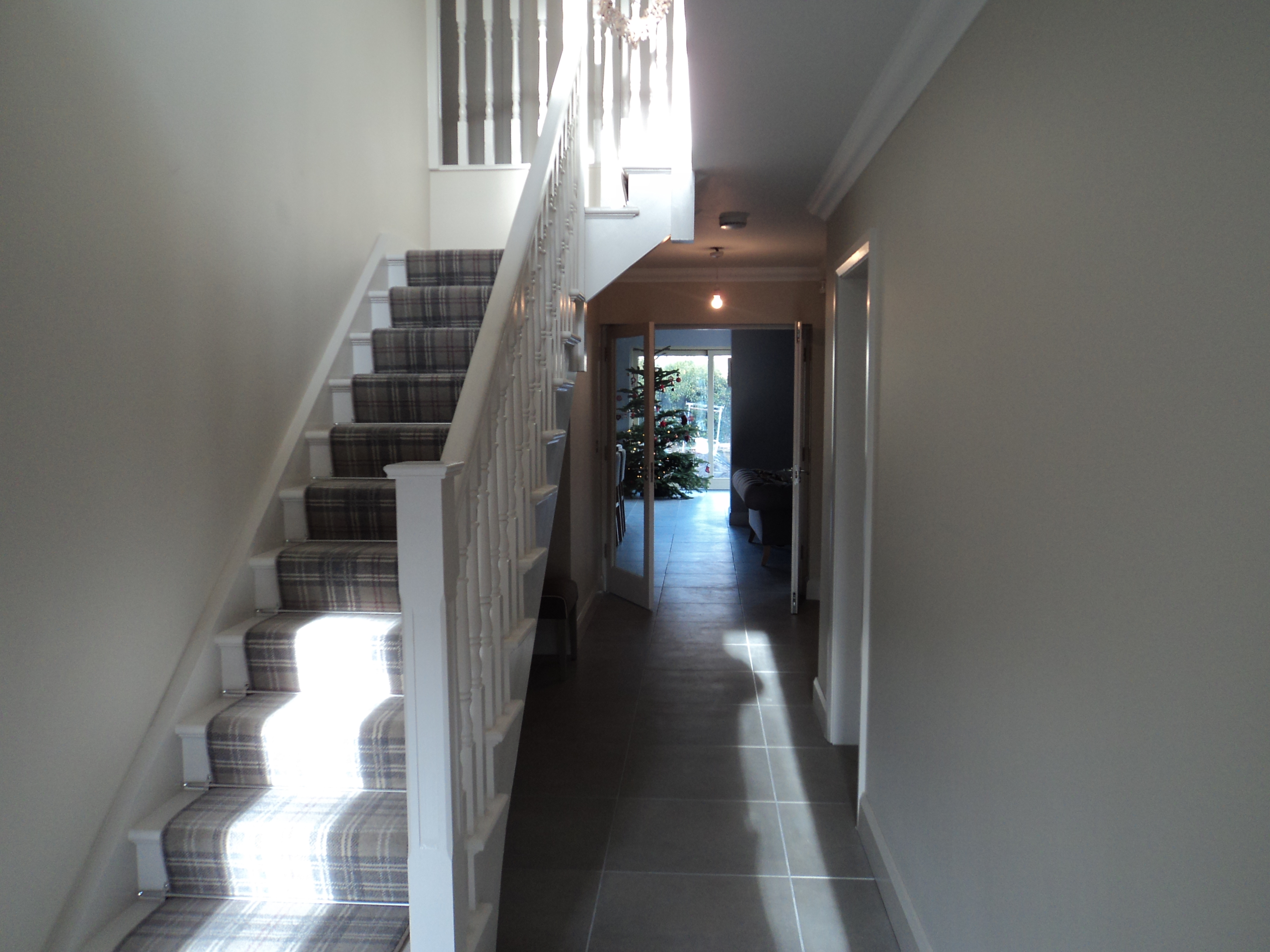 Interior refurbishment and extension of rear and front in Rathfarnam, South Dublin