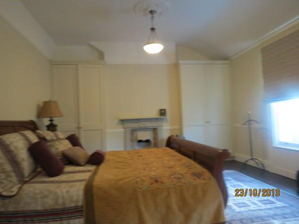 Renovated bedroom, interior renovation in Greystones, Co. Wicklow